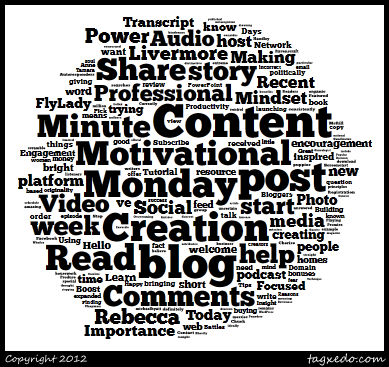 blogging, content creation