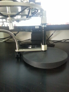 podcast mic desk stand
