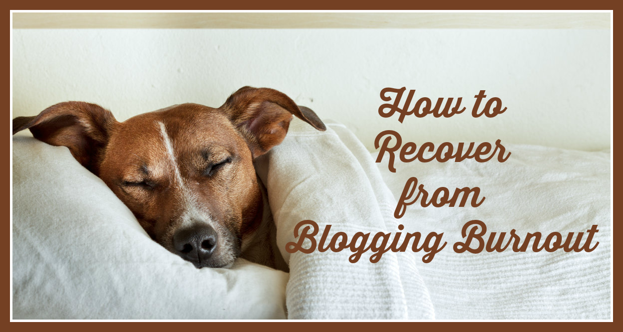 How to recover from Blogging Burnout featured image