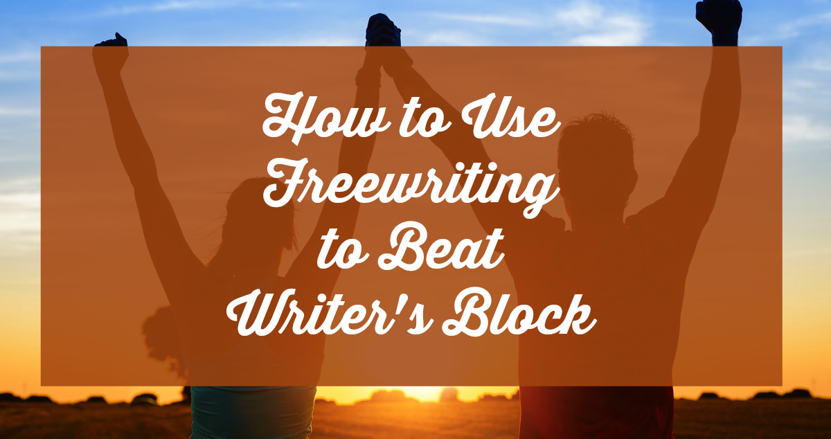 How to use freewriting to beat writers block featured image