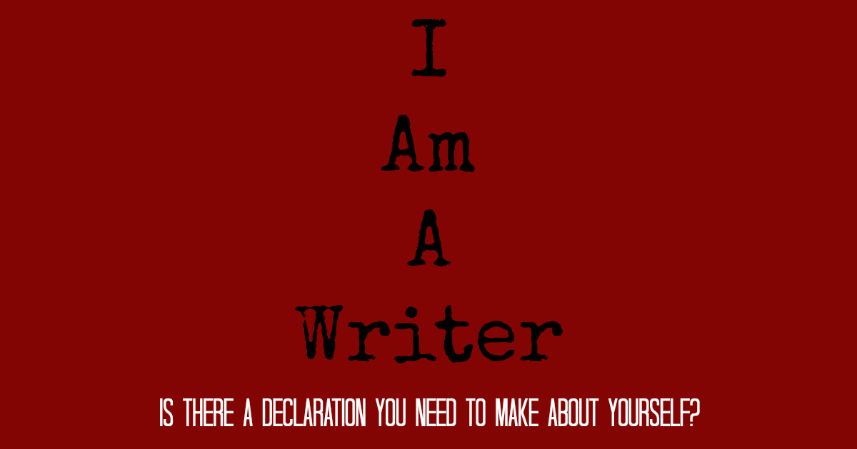 I am a writer featured image