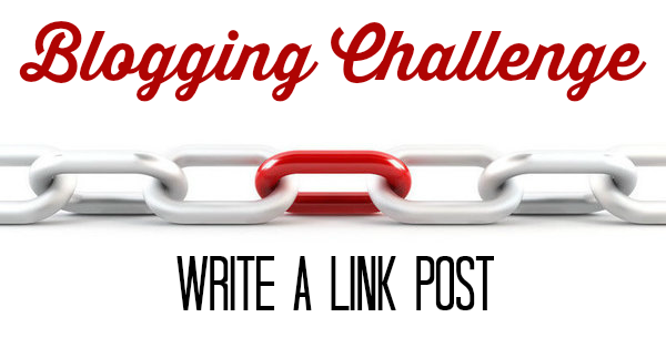 Blogging Challenge: Write a Link Post