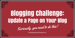 Blogging Challenge_Update a Page on Your Blog2