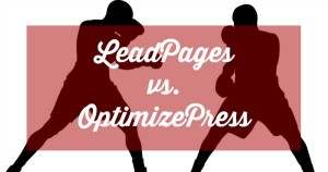 LeadPages vs OptimizePress