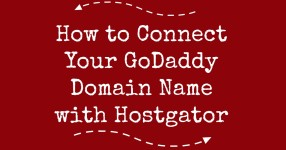 how to connect your godaddy domain name with hostgator