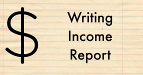 Writing income report