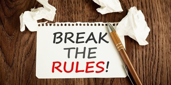 5 blogging rules you should break