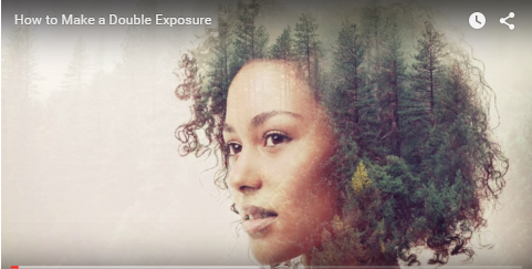 how to make cool double exposure images using picmonkey