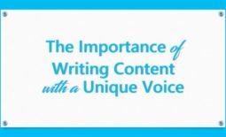 The Importance of Writing Content with a Unique Voice